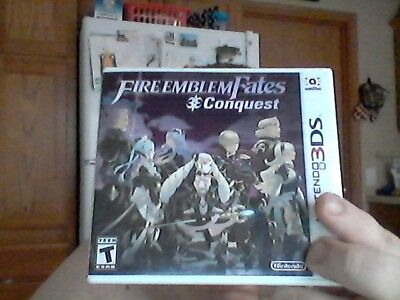 Fire Emblem Fates: Conquest (Nintendo 3DS, 2016) very good. NO GAME INCLUDED!!!