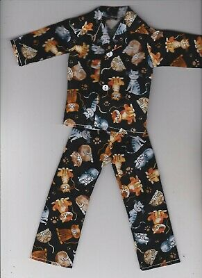 Black Belt Karate Outfit fits Barbie Doll BAR1 Homemade Doll Clothes