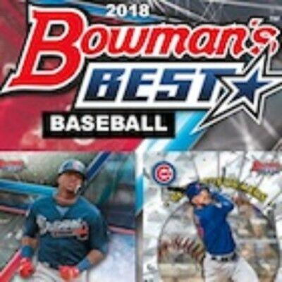 2018 Bowman's Best Base & Top Prospects Complete Your Set
