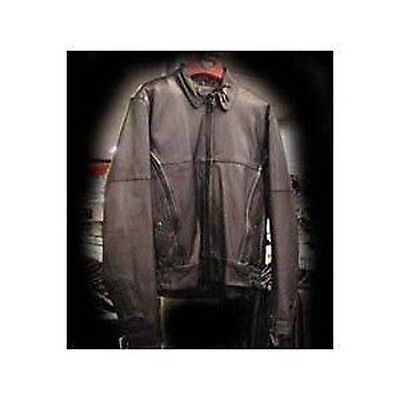Unik Tall Men's Brown V-Bomber Jacket - Size: Small-Tall