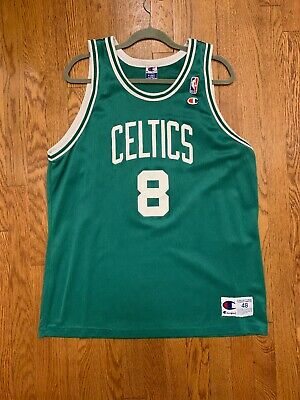 fdb7b187 Vintage Champion NBA Boston Celtics 8 Antoine Walker Jersey Size 48 XL  Flawless