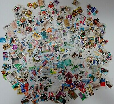 1600 Australia Stamps Used Bulk Collection Lot Off Paper Decimal Free Post