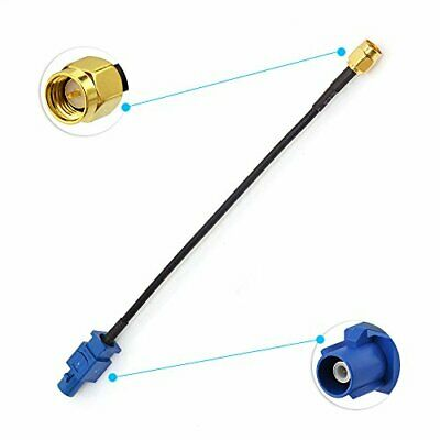 Eightwood GPS Antenne Adaptateur Fakra C mle SMA Homme Cble Pigtail RG174 15 cm