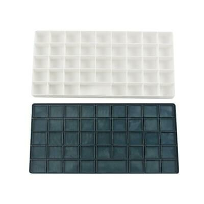 Compartments Plastic White Artist Paint Mixing Pallette Oil Watercolor Tray Art