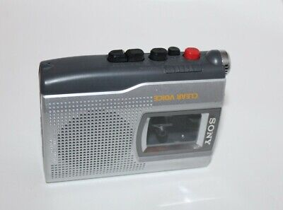 Sony Cassette Corder Model TCM-150 Clear Voice Good Working Condition