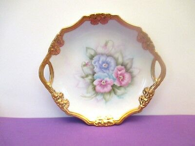Exquisite Hand Painted Porcelain Plate, signed by Artist