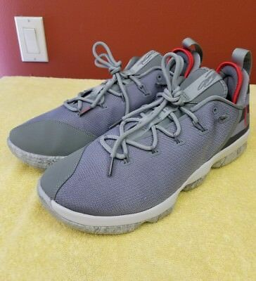 Nike Lebron 14 XIV Low Dunkman Men/'s Basketball Shoes Dark Stucco 878636 003