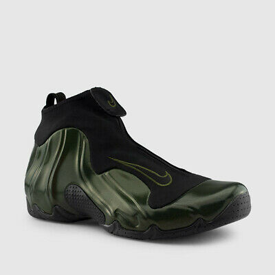 Nike Air Flightposite Sz 10 10.5 Legion Green Black Foamposite $200 A09378-300