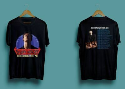 Limited-SHAWN-MENDES-North-American-Tour-2019-Tee Männer Frau T-Shirt k45