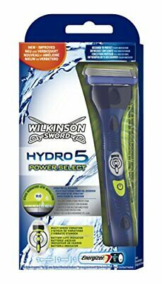 Wilkinson Sword Hydro 5 Power Select Rasoir avec 1 lame de recharge