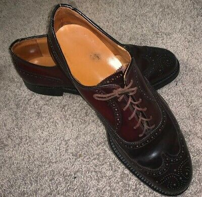 0471ad2de68 SHELL CORDOVAN Wingtip Oxford 10D Union Made JO22638 OF-7372 Used See  Pictures