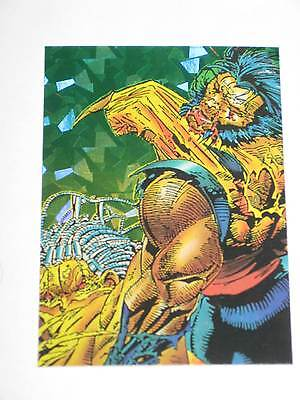 1992 Marvel Wolverine From Then 'Til Now Ii Prism Insert Chase Single Card! Xmen