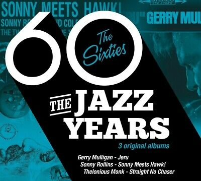 The Jazz Years-The Sixties 3Cd New-Thelonious Monk,Sonny Rollins,Gerry Mulligan