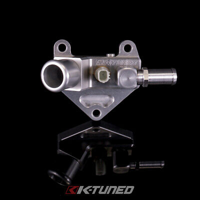 K-Tuned Upper Coolant Neck w/ Hose 45 Elbow for 12-15 Civic Si / 2009+ Acura TSX