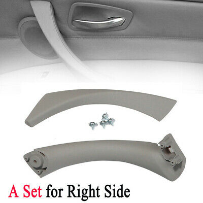 Right Car Inner Door Panel Handle Outer Pull Trim Cover For BMW E90 E91 328i 320