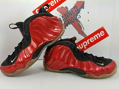 e467a2a534ca3 Nike Air Foamposite One  314996 610  Pro Penny Hardaway Metallic Red Sz 9.5