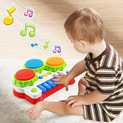 Electric Piano Hand Drum Musical Toy Educational Toys for Baby Children Kids