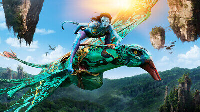 "AVATAR MOVIE A4 POSTER GLOSS PRINT LAMINATED 11.7""x6.6"""