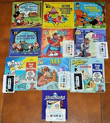 Mixed Lot CHILDREN'S Cassette Story Books & Records