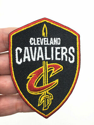 NBA Cleveland Cavaliers emblem embroidered with basketball patches-5.8cmx8.5cm.