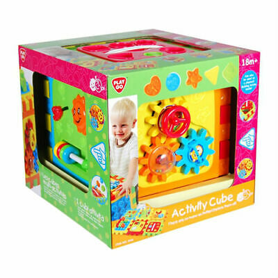 NEW PlayGo Fun Baby Toddler Activity Learning Cube Playmat 18m+