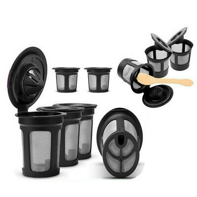 6/12pcs/Set Refillable Reusable K-Cup Coffee Filter Pod Fits For Keurig Coffee