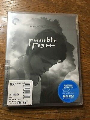 Rumble Fish (Criterion Collection) [New Blu-ray] Restored, Special Edition