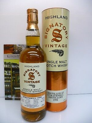 Strathmill 1992 17y Signatory Vintage Sherry Butt 43% 70cl mit Tube SM-140119