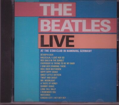 CD THE BEATLES Live At The Star Club Hamburg