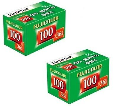 2 Rolls x FUJI Fujifilm Fujicolor ISO 100 36exp 35mm Color Negative Print Film