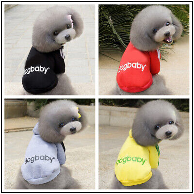 Winter Casual Adidog Pet Dog Clothes Warm Hoodie Coat Jacket Clothing Dog