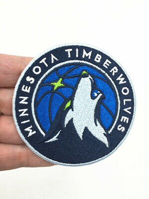 NBA Minnesota TimberWolves basketball embroidered patches-7.5cm.