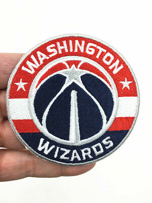 NBA's Washington Wizards basketball emblem features an embroidered patch-7.5cm.