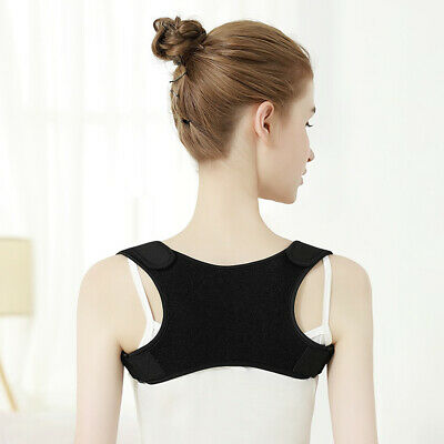 Posture Corrector Adjustable Shoulder Back Brace Wellness Belt Vest Unisex