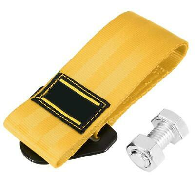 2 Tons High Strength Car Trailer Towing Rope Recovery Tow Strap with Hook Yellow