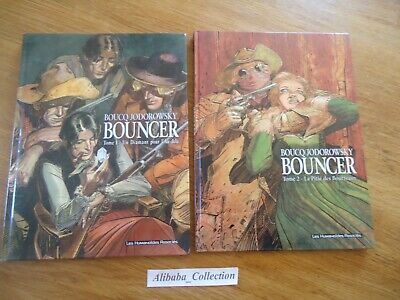 LOT BD ** BOUNCER 1 2 * dont EO BOUCQ JODOROWSKY HUMANOIDES WESTERN DAMANT PITIE