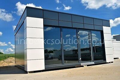 Modular Building Portable Cabin garden office portable office, marketing suite
