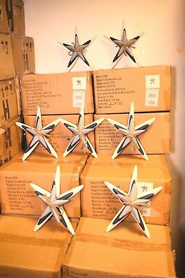 Joblot Wholesale 60x Wooden Star Decorative 10 Boxes Ornament Bulk Clearance New