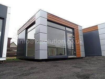 Modular Building Portable Cabin garden office 4.8m x 5m