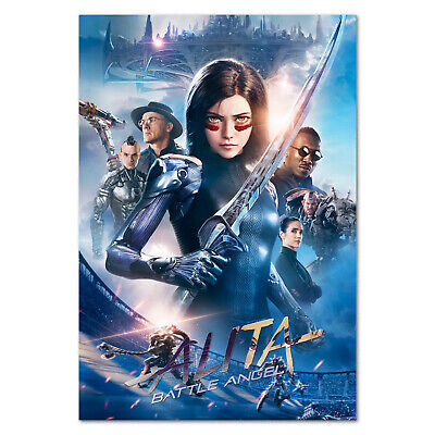 Alita Battle Angel Movie Large CANVAS Art Print A0 A1 A2 A3 A4