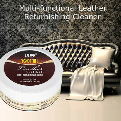 Multi-functional Leather Refurbishing Cleaner Cream Fast Decontamination 10% OFF