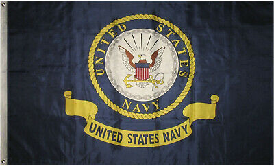 3X5 US NAVY Coat of Arms Seal Crest Flag 3'x5' Banner fade resistant premium