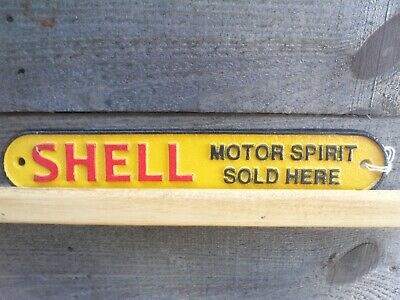 Cast Iron Small Shell Plaque