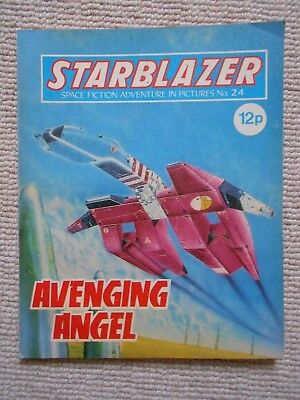 Starblazer Space Fiction Adventure In Pictures Comic No.24 1980