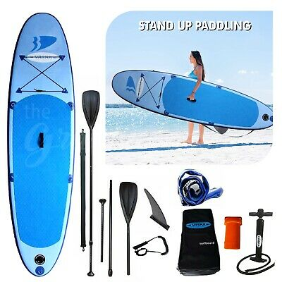 Inflatable Stand Up Paddle Board Sup-Board Surfboard Kayak Surf set