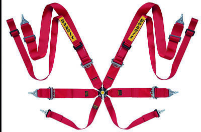 Sabelt 8Pt Harness Red CCA833SRD