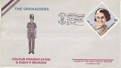 India - 8th Reunion of the Grenadiers & Colour Presentation (APS SC) 1991