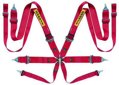 Sabelt 8Pt Harness Red CCA833SRU