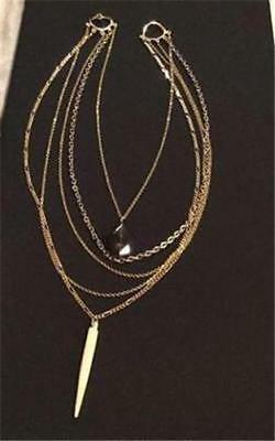 Gold Chain Necklace, 5 Strands Neiman Marcus $595