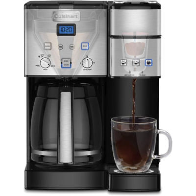 Cuisinart - Coffee Center 12-Cup Coffee Maker and Single-Serve Brewer